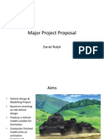 Major Project Initial Proposal