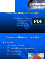 Sarcomas Retroperitoneales