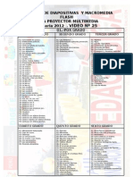 Catalogo de Diapositivas, Interactivos y Flash 2012