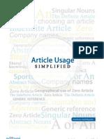 article usage