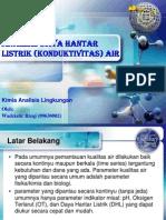 analisis konduktivitas air