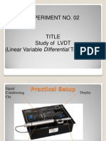 Study of LVDT