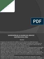 Calidad de servicio electrico _ peru
