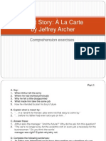 Short Story 'À La Carte' (Exercises)