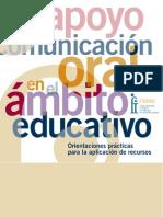 Guía de apoyo a la Comunicación oral en contexto escolar