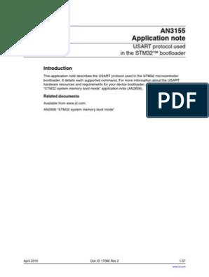 STM32 USART Bootloader | Booting | Transmission Control Protocol