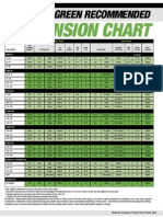 2005 KX Suspension Chart