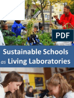 Sustainable Schools as Living Laboratories for Education and Community Outreach