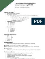 BKU39 - Grundlagen Der Bodenkunde - LernZusammenfassung 09