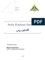 Arabic keyphrase Extraction