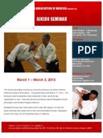 Nakayama Sensei Shreveport Seminar 2013