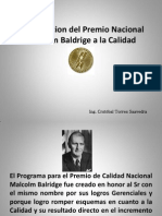 Premio Nacional Malcoim Baldrigue