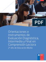 Comprension Lectora 2º Medio