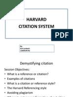 harvard citation system
