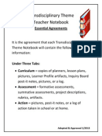 notebook essential agreements