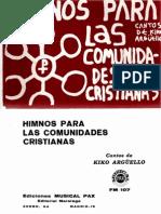 Himnos-para-las-comunidades-cristianas-kiko-arguello