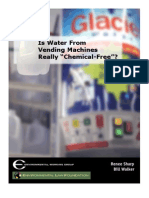 "Is Water From Vending Machines Really ""Chemical-Free""?"