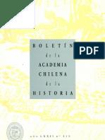 Boletin de la Academia Chilena de la Historia
