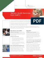 Vendor Audit Services from SAFC