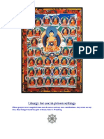 Liturgy for use in prison settings (Buddhist)
