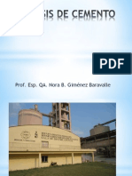 Analisis de cemento