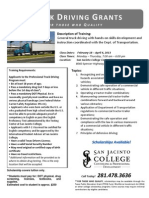 TPEG Truck Driving Flyer 2013