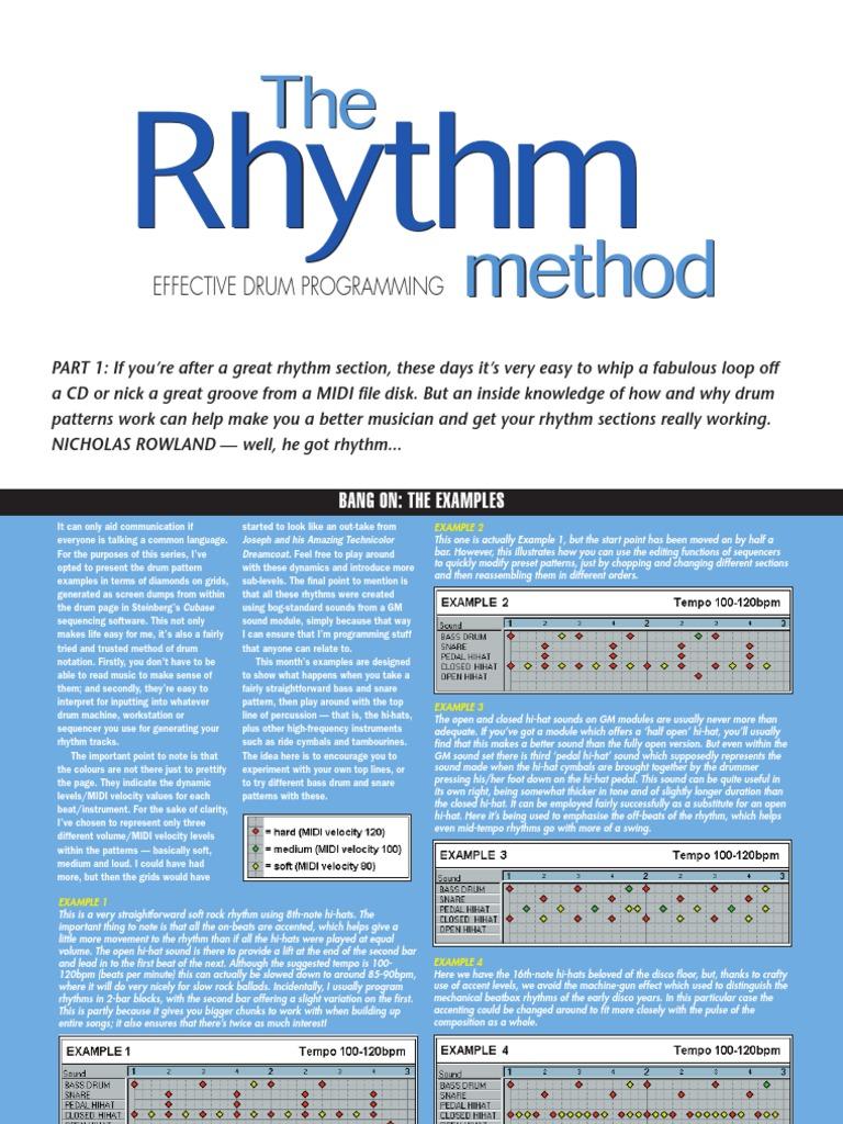 Drum programming fandeluxe Images