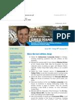 News Bulletin from Greg Hands M.P. #358