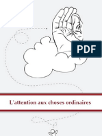 L'attention aux choses ordinaires