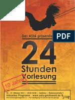 24 Stunden Vorlesung Greifswald WS 2012