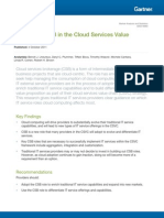 Role of csb in the cloud