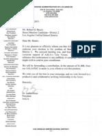 Associated Administrators of Los Angeles (AALA) endorse Robert D. Skeels for LAUSD School Board