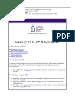 January 2013 VMN Newsletter