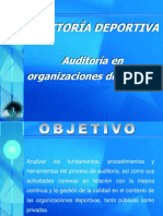 Generalidades Auditoria Deportiva