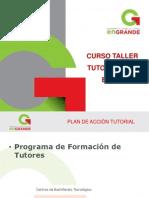 CURSO TALLER TUTORIAS