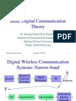 Basic Digital Communications