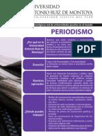 Escuela de Periodismo Universidad Ruiz de Montoya