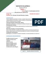 REPORTE 10 DE LABORATORIO DE QUIMICA GNRAL I