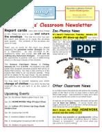 Week 21 Newsletter