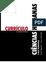 CURRÍCULO DE CIENCIAS HUMANAS
