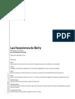 DURANG LAS VACACIONES DE BETTY