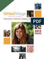 GV 2013 Junior Programs Brochure