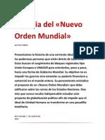 Historia del «Nuevo Orden Mundial» por Pierre Hillard