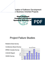 Stategic Application of Software Development Process for Business Oriented Projects