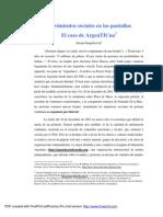 Argentina, redes sociales y política