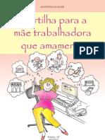 Cartilha Mae Trabalhadora Amamenta