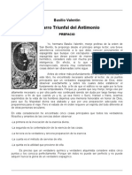 El carro triunfal del Antimonio - Basilio Valentin
