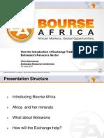 bourse africa