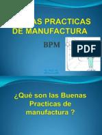 1ro Buenas Practicas de Manufactura Bpm