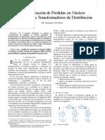 Caracterización de Pérdidas en Núcleos Magnéticos de Transformadores de Distribución
